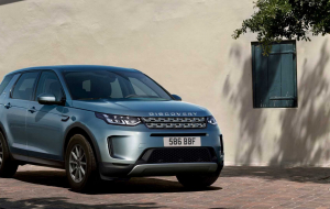 Land Rover Discovery Sport 2020 Blue Full HD Wallpapers