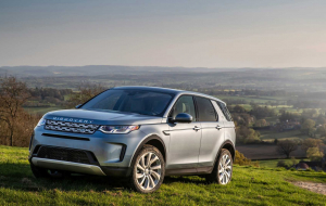 Land Rover Discovery Sport 2020 Blue Gallery