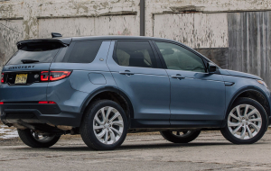 Land Rover Discovery Sport 2020 Blue In HQ