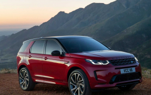 Land Rover Discovery Sport 2020 Blue Photos
