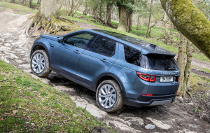 Land Rover Discovery Sport 2020 Blue Pictures