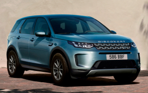 Land Rover Discovery Sport 2020 Blue Wallpaper