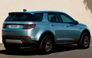 Land Rover Discovery Sport 2020 Blue Wallpapers HQ