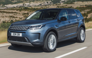 Land Rover Discovery Sport 2020 Blue Wallpapers For Android