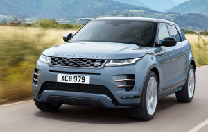 Land Rover Discovery Sport 2020 Blue Wallpapers For IPhone