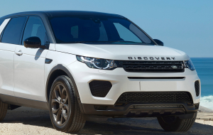 Land Rover Discovery Sport 2020 Blue Wallpapers Pack