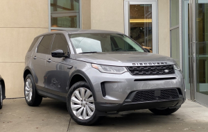 Land Rover Discovery Sport 2020 Gray Beautiful Wallpaper