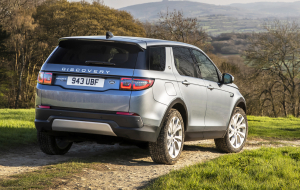 Land Rover Discovery Sport 2020 Gray Pics