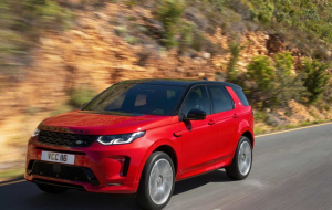 Land Rover Discovery Sport 2020 Gray Wallpaper