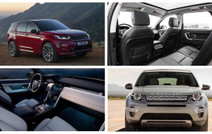 Land Rover Discovery Sport 2020 Gray Widescreen