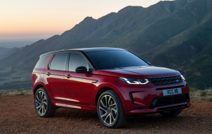 Land Rover Discovery Sport 2020 Interior High Resolution