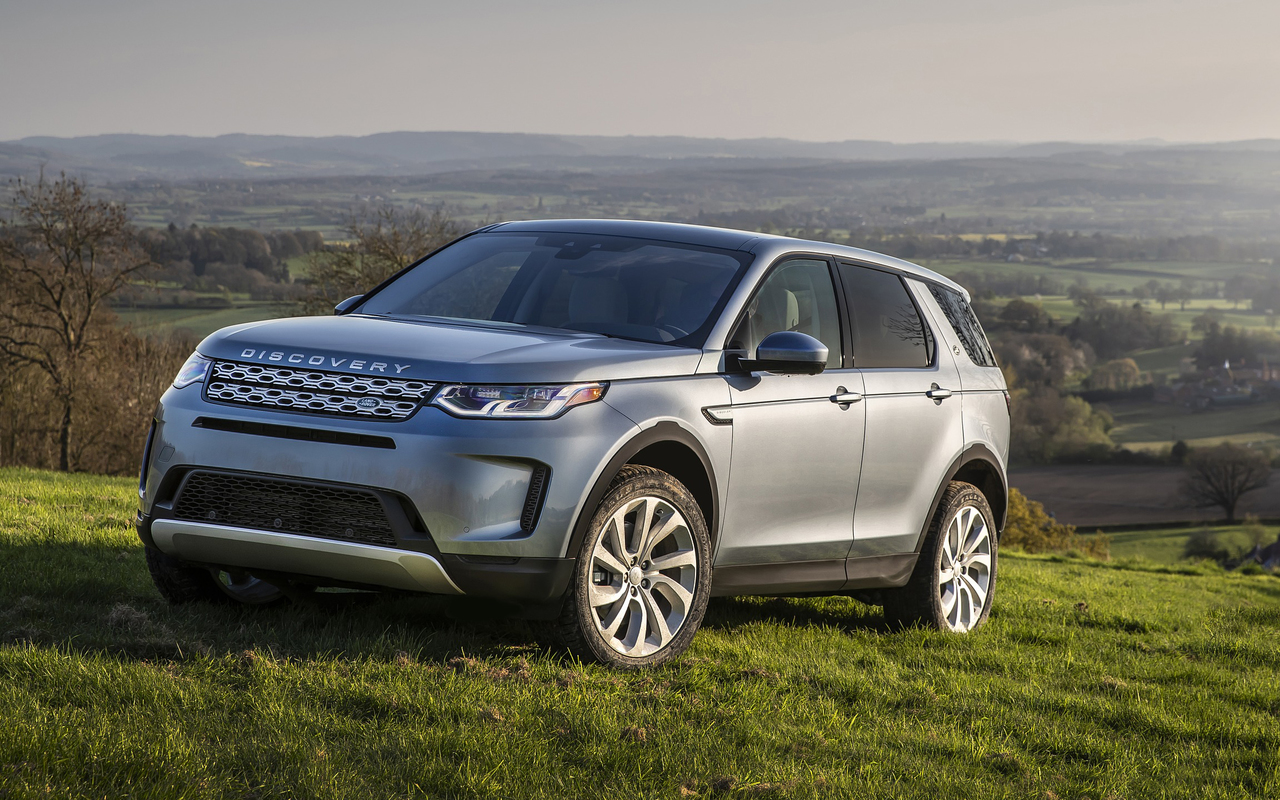 Land Rover Discovery Sport 2020 interior