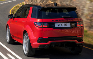 Land Rover Discovery Sport 2020 Red 4K Wallpapers