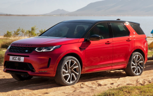 Land Rover Discovery Sport 2020 Red Computer Wallpaper