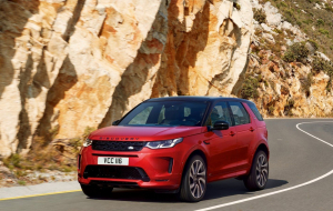 Land Rover Discovery Sport 2020 Red High Resolution