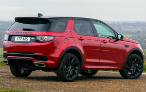 Land Rover Discovery Sport 2020 Red Wallpaper