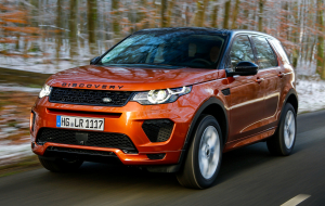 Land Rover Discovery Sport 2020 Red Wallpapers HQ