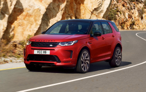 Land Rover Discovery Sport 2020 Red Wallpapers For IPhone