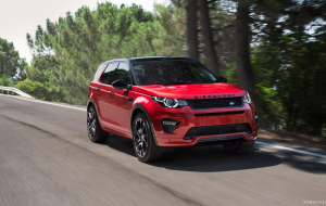 Land Rover Discovery Sport 2020 Red Widescreen