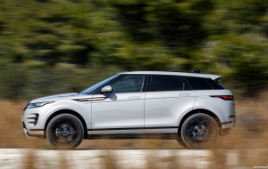 Land Rover Discovery Sport 2020 Silver Wallpaper