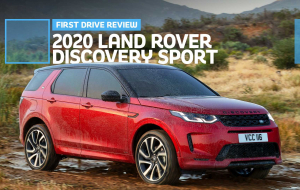 Land Rover Discovery Sport Hybrid 2020 Widescreen