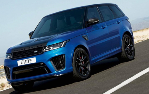 Land Rover Range Rover 2020 Blue Wallpapers For IPhone