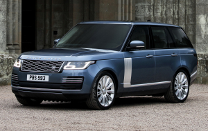 Land Rover Range Rover 2020 Blue Wallpapers Pack