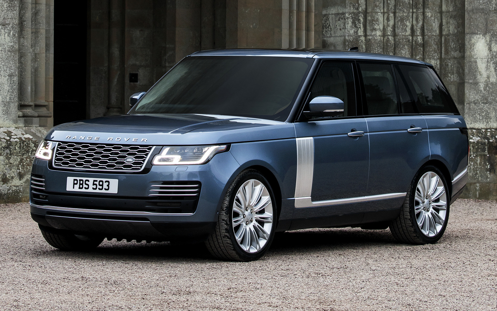 Land Rover Range Rover 2020 blue phone, desktop wallpapers ...