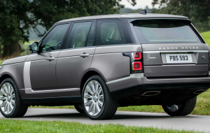 Land Rover Range Rover 2020 Gray Wallpapers For IPhone
