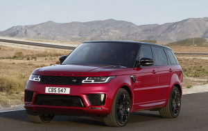 Land Rover Range Rover 2020 Red 4K Wallpapers