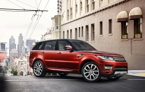 Land Rover Range Rover 2020 Red Wallpapers HD