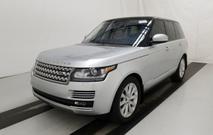 Land Rover Range Rover 2020 Silver 4K Wallpapers