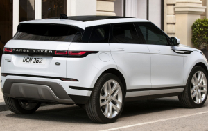 Land Rover Range Rover Evoque 2020 Black Wallpapers HQ