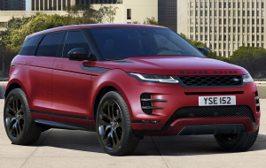Land Rover Range Rover Evoque 2020 Black Wallpapers For IPhone