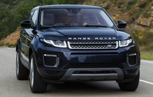 Land Rover Range Rover Evoque 2020 Blue Beautiful Wallpaper