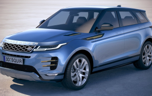 Land Rover Range Rover Evoque 2020 Blue In HQ