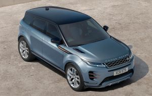 Land Rover Range Rover Evoque 2020 Blue Pictures