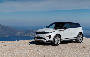 Land Rover Range Rover Evoque 2020 Blue Wallpapers For Android