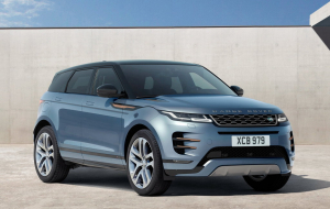 Land Rover Range Rover Evoque 2020 Blue Wallpapers For IPhone