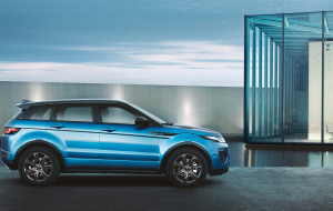 Land Rover Range Rover Evoque 2020 Blue Wallpapers Pack