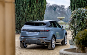 Land Rover Range Rover Evoque 2020 Blue Widescreen