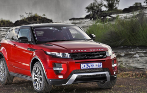 Land Rover Range Rover Evoque 2020 Red Wallpapers For IPhone