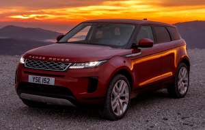 Land Rover Range Rover Evoque 2020 Red Widescreen