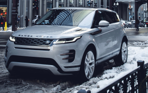Land Rover Range Rover Evoque 2020 Silver Full HD Wallpapers