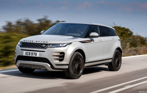 Land Rover Range Rover Evoque 2020 Silver Wallpapers For IPhone