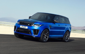Land Rover Range Rover Sport 2020 Blue Beautiful Wallpaper