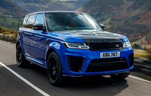 Land Rover Range Rover Sport 2020 Blue Wallpaper