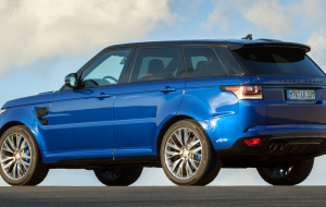 Land Rover Range Rover Sport 2020 Blue Wallpapers For IPhone