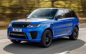 Land Rover Range Rover Sport 2020 Blue Widescreen