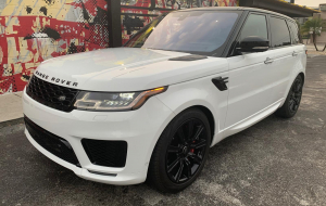 Land Rover Range Rover Sport 2020 Gray High Resolution